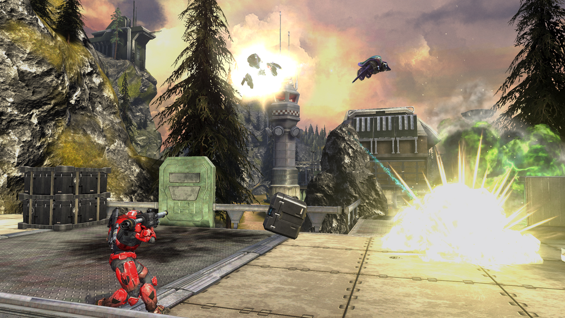 Halo Defiant Map Pack Review Defiant Map Pack For Halo
